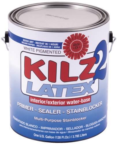 KILZ 2 WATER BASED SEALER/PRIMER/STAIN BLOCKER GALLON