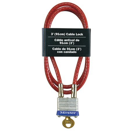 719D 3 FT. INTEGRATED CABLE LOCK