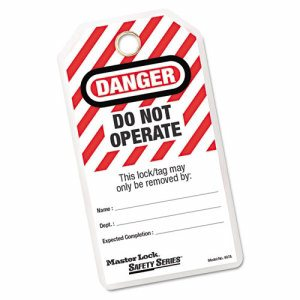 497A DO NOT OPERATE TAGS