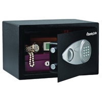 SAFE DIGITL W/KEY OVRD .58CUFT
