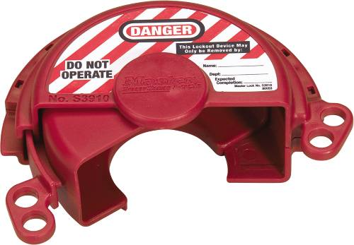 MASTER LOCK� PRESSURIZED GAS VALVE LOCKOUT