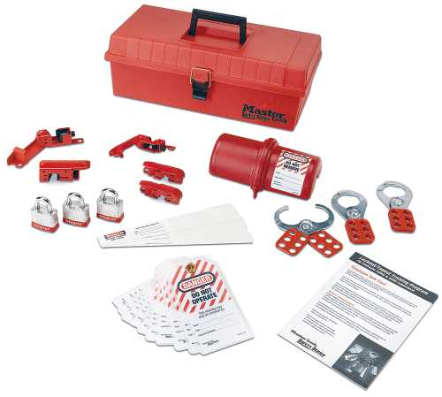 PERSONAL SAFETY LOCKOUT KITS VALVE AND ELECTRICAL