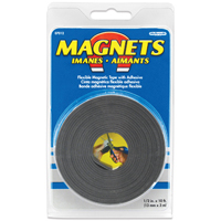 TAPE MAGNETIC 1/2INX10FT FLEX