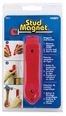 07612 RED MAGNETIC STUD FINDER