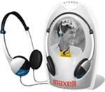 MAXELL 190318 LIGHTWEIGHT STEREO HEADPHONES