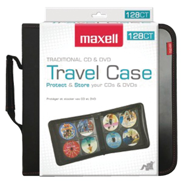 Maxell 190163 128-Capacity CD Travel Case