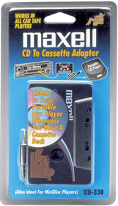 MAXELL 190038 CD TO CASSETTE ADAPTER