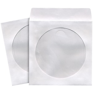 MAXELL 190135 - C CD/DVD STORAGE SLEEVES (50 PK; WHITE)