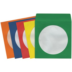 MAXELL 190134 - CD401 CD/DVD Storage Sleeves (50 pk; Colors)