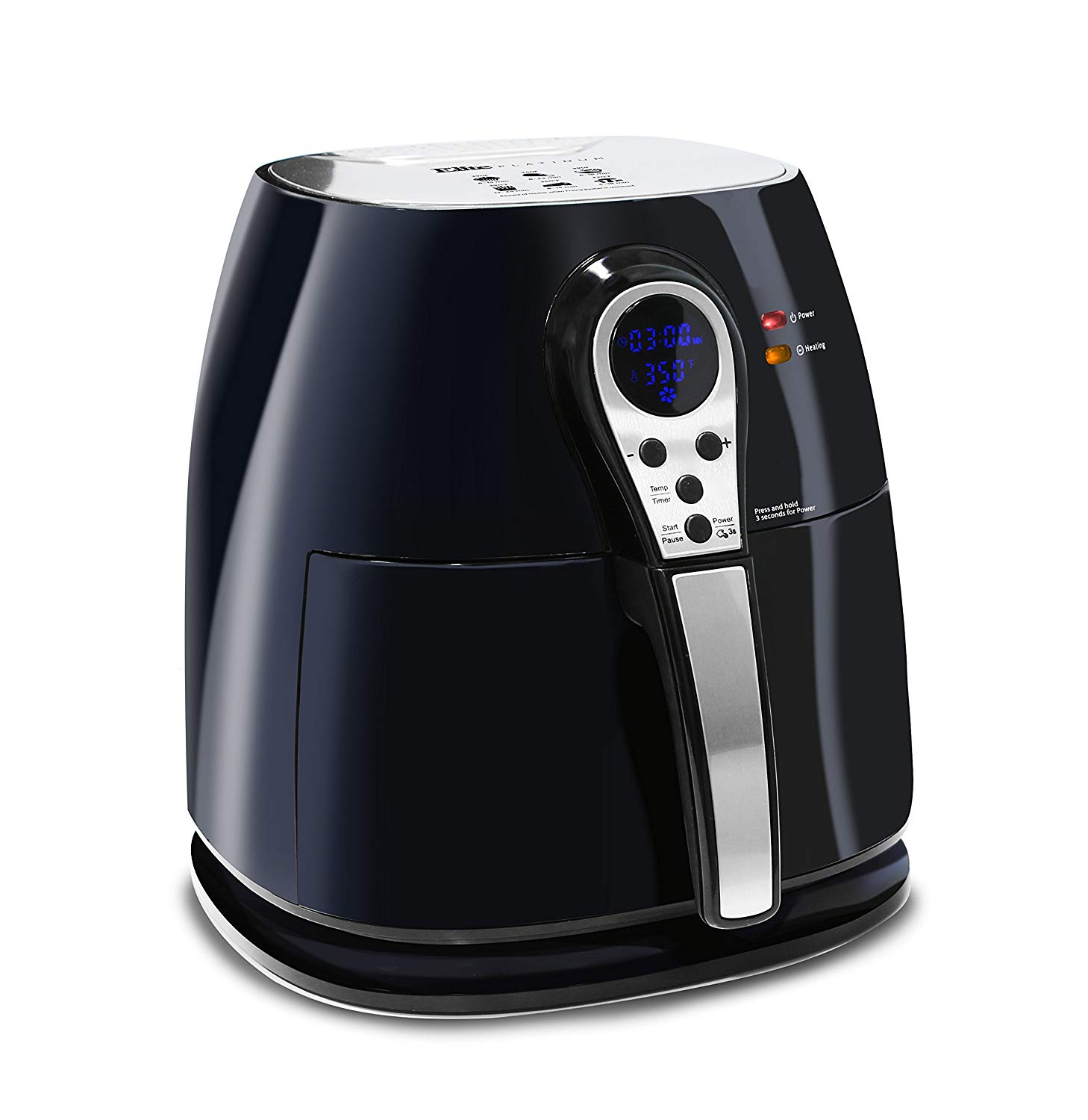 ELITE PLATINUM EAF-05 DIGITAL MULTI FRYER 3.2QT FRY COOK BAKE