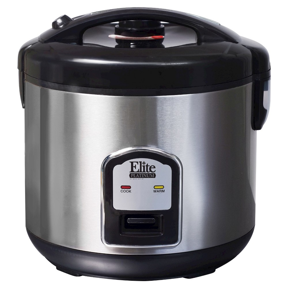 ELITE PLATINUM DRC-1000B 20 CUP RICE COOKER STAINLESS STEEL