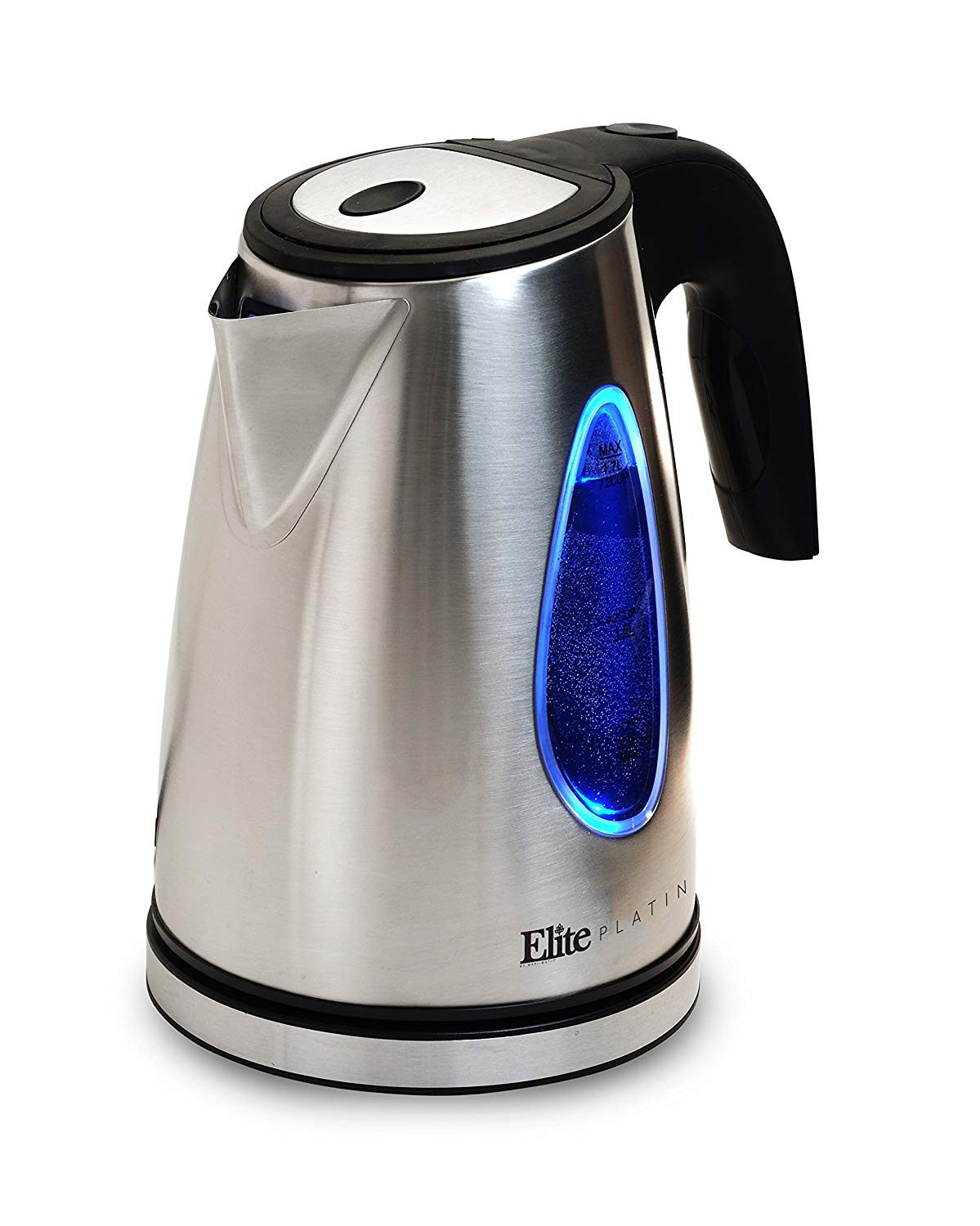 ELITE PLATINUM EKT-1271  1.7L CORDLESS ELECTRIC GLASS KETTLE