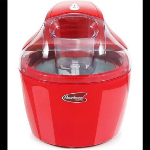 AMERICANA EIM-1400R 1.5QT ELECTRIC ICE CREAM MAKER WITH QUICK