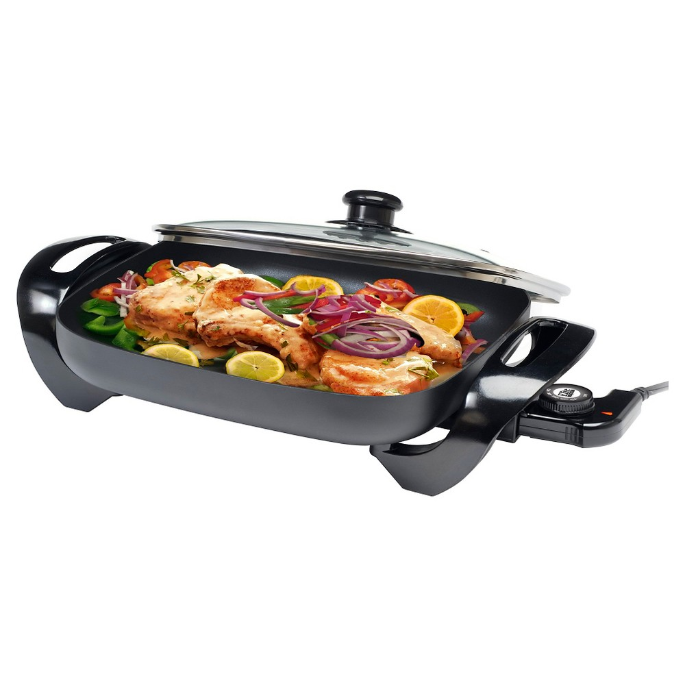 ELITE GOURMET EG-1500 15 INCH X 12 INCH ELECTRIC SKILLET WITH