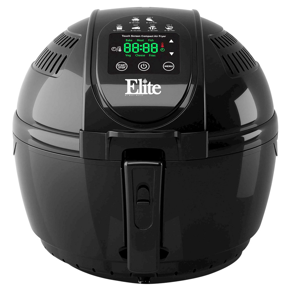 ELITE PLATINUM EAF-1506D 3.5QT DIGITAL MULTI FRYER 1300 WATTS