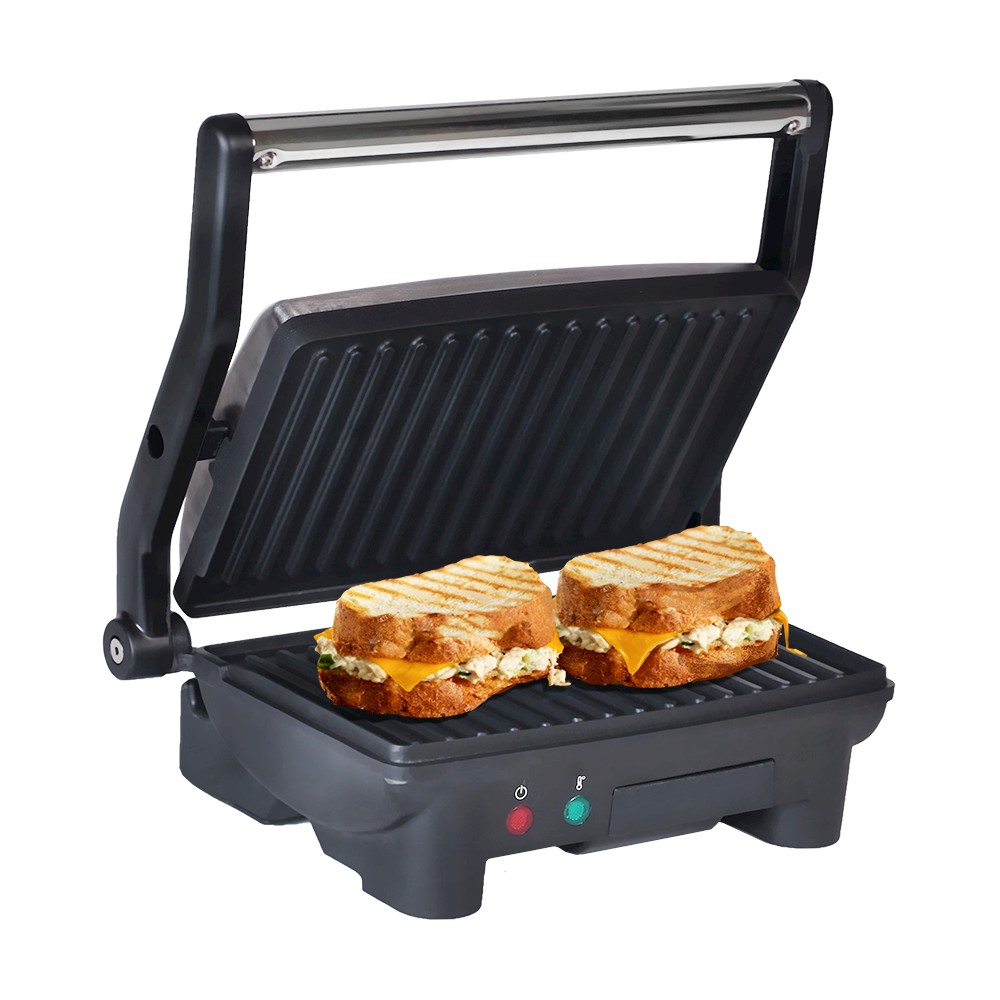 ELITE CUISINE EPN-2976 3 IN 1 PANINI CONTACT AND FLAT GRILL