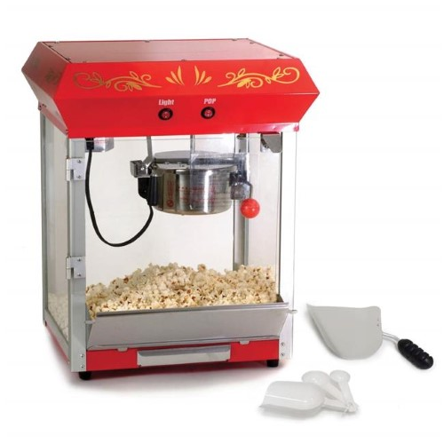 ELITE EPM-487 4OZ KETTLE TABLETOP POPCORN MAKER
