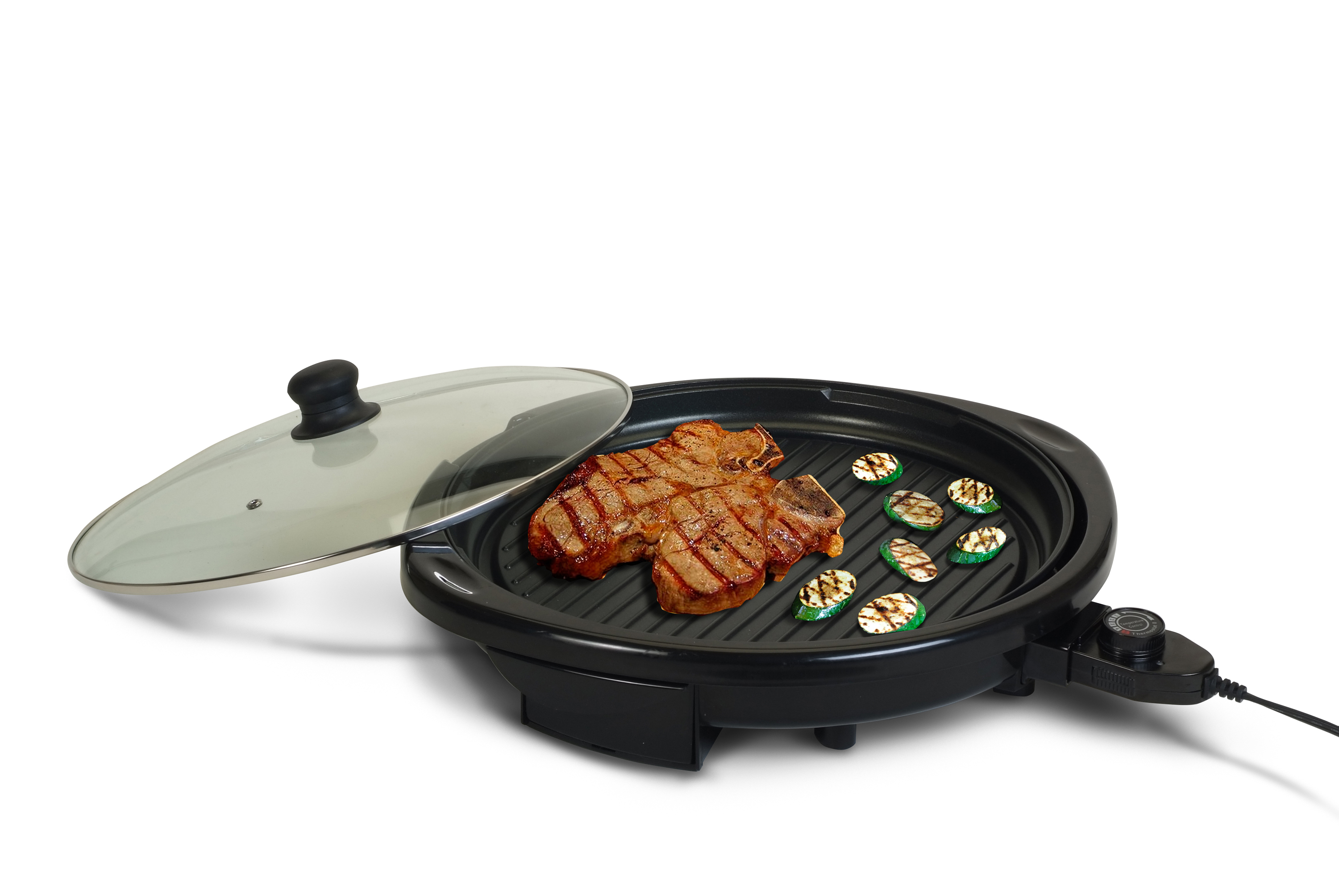 ELITE GOURMET EMG-980B 14 INCH NONSTICK ELECTRIC INDOOR GRILL