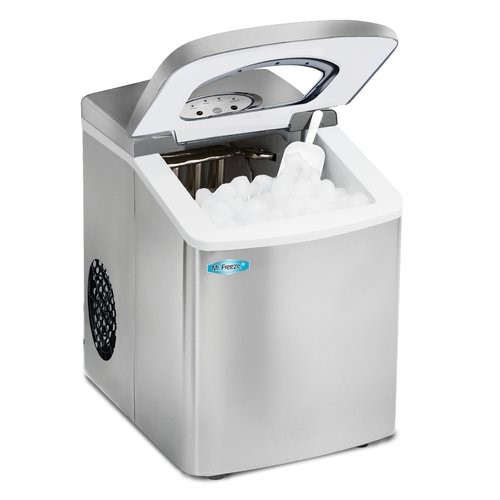 MR FREEZE MIM-18SI SILVER PORTABLE ICE MAKER 9CUBES PER BATCH