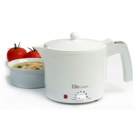 ELITE CUISINE EHP-001 ELECTRIC HOT POT WITH EGG COOKER