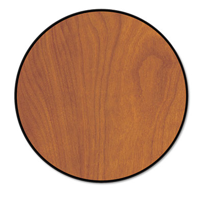 """Round Conference Table Top, 42"""" Diameter, Wild Cherry"""