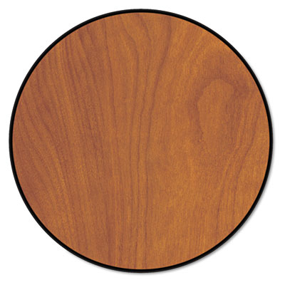 """Round Conference Table Top, 48"""" Diameter, Wild Cherry"""