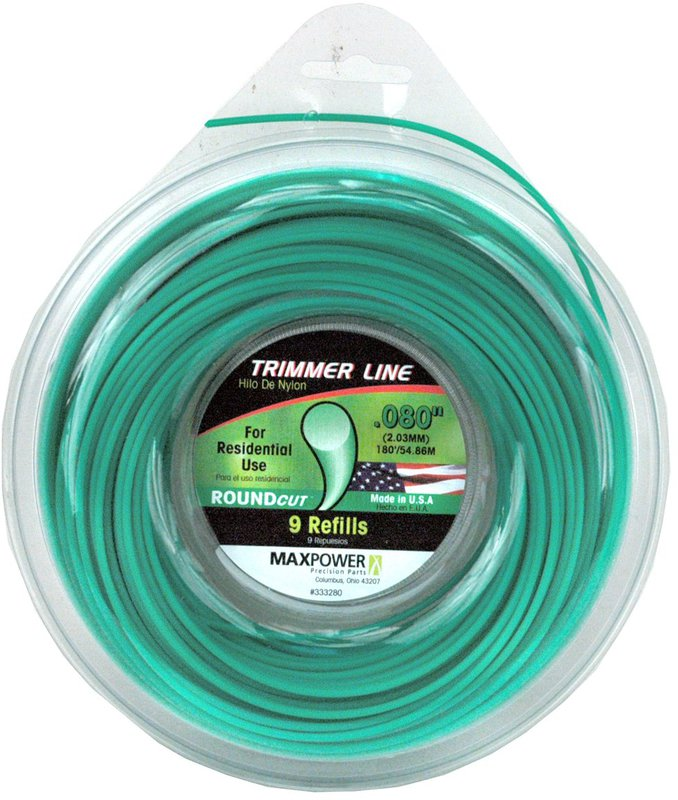 333280 .080 IN. X180 FT. TRIMMER LINE