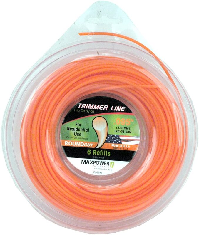 333295 .095 IN. X120 FT. TRIMMER LINE