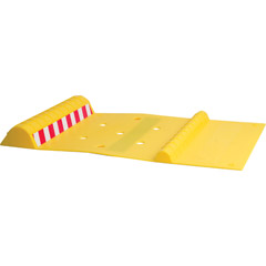 MAXSA INNOVATIONS 37356 Park Right Parking Mat (Yellow)