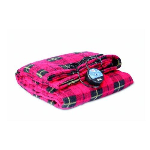 Comfy Cruise 12V Heated Plaid Blanket