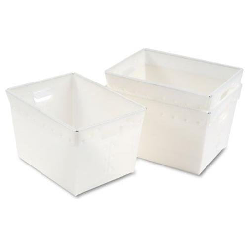 Kwik-File Mail Storage Totes, 18�w x 13�d x 11�h, 3/Carton