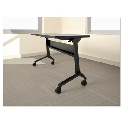 Flip-n-Go Table Base, 70 1/2w x 21 1/4d x 27 7/8h, Black