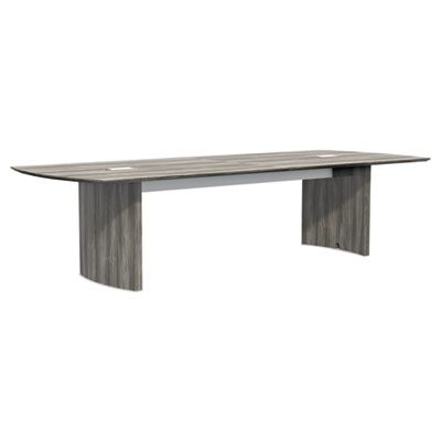 Medina Conference Tables, Boat, 120 x 48, Gray Steel