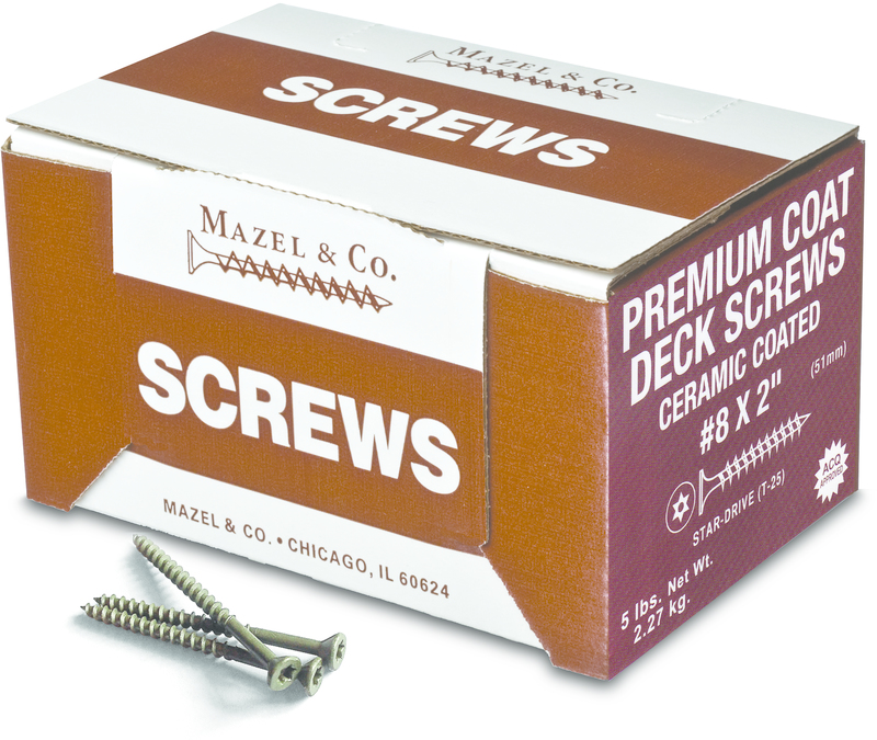 #8X2 5# PC STAR DRIVE SCREW