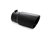 Dual Walled Angled Exhaust Tip
