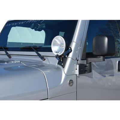 WINDSHIELD LIGHT BRACKETS