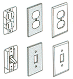 87916 WH OUTLET PLATE SEALS
