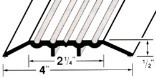 72-INCH COMMERCIAL FLUTE THRESHOLD