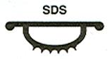 036 In. Gray Insert For Door Bottom