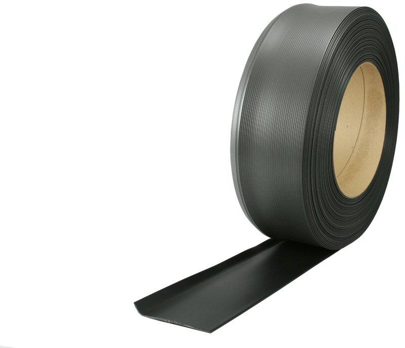 "4""x120' Black Vinyl Cove Wall Base Bulk Roll"
