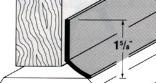 05587 36 IN. WH SELF-ADHSVE DOOR SW