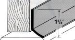 05603 36 IN. BROWN SELF-ADHESIVE DOOR SWEEP