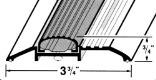 72-INCH ALUMINUM LOW THRESHOLD W/V