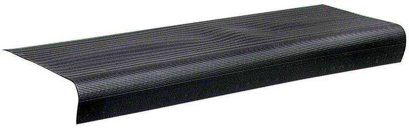75556 24 IN. BLACK STAIR TREADS