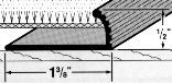 78147 1-3/8X72 SV CARPET GRIPP