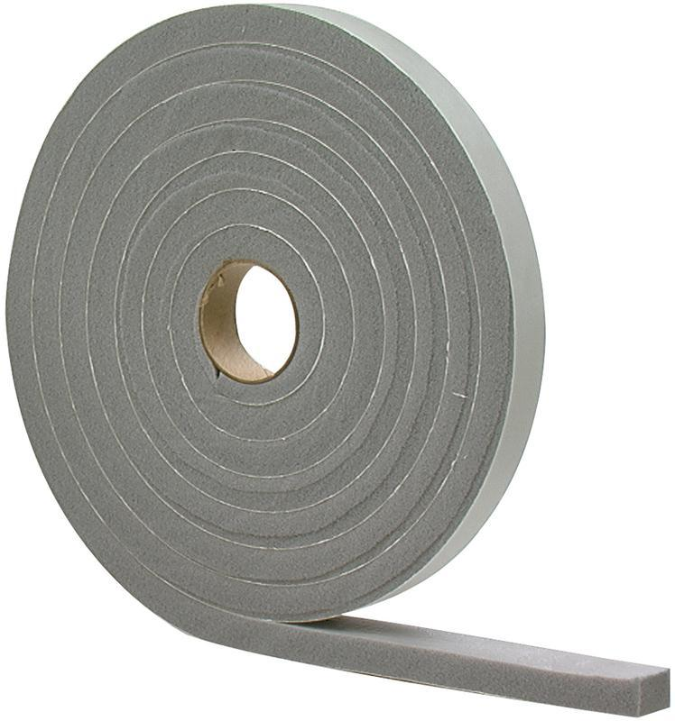 01/2X3/4X10 Gray Foam Tape