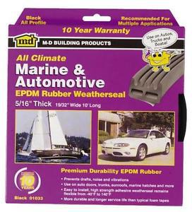01033 10 FT. AUTO/MAR WEATHERSTRIP
