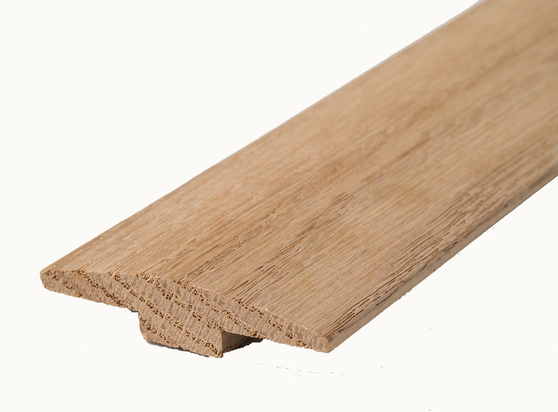 48941 36 IN. HARDWOOD UNFINISHED T-MOLD