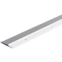 M-D Ultra Heavy duty Door Sweep with Vinyl Seal, 48 in L x 2-1/4 in W 0.2 in T, White