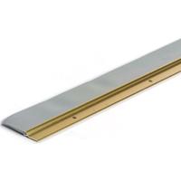 M-D Ultra Heavy duty Door Sweep with Vinyl Seal, 36 in L x 2-1/4 in W 0.2 in T, Gold